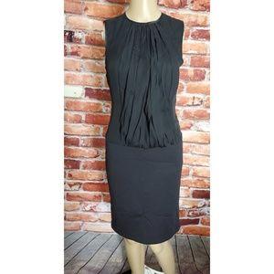 Boulee Black Open Back Dress Size Small